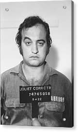 John Belushi Mug Shot For Film Vertical Acrylic Print