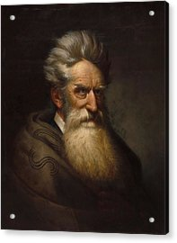 John Brown - Ole Peter Hansen Balling Acrylic Print by War Is Hell Store