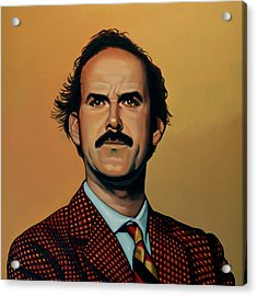 John Cleese Acrylic Print by Paul Meijering