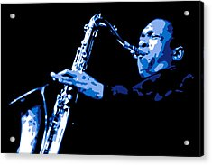John Coltrane Acrylic Print by DB Artist