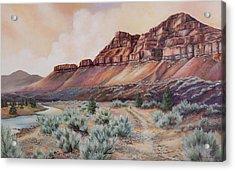 John Day River At 30 Mile Acrylic Print