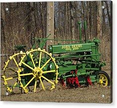 John Deer Tractor Acrylic Print