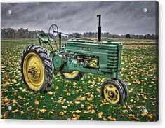 Acrylic Print featuring the photograph John Deere 2 by Williams-Cairns Photography LLC