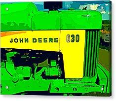 John Deere 630 Acrylic Print by John Gerstner