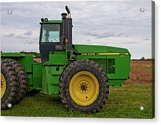 Acrylic Print featuring the photograph John Deere Green 3159 by Guy Whiteley