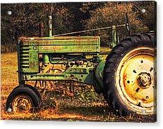 John Deere Retired Acrylic Print