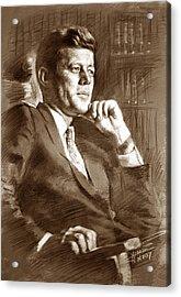 John Fitzgerald Kennedy Acrylic Print by Ylli Haruni