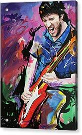 John Frusciante Acrylic Print by Richard Day