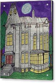 John Henes Home. Acrylic Print