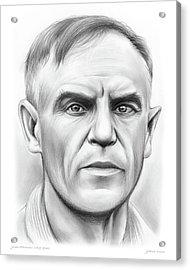 John Heisman Acrylic Print by Greg Joens