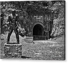 John Henry - Steel Driving Man Acrylic Print