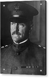 John J. Pershing Acrylic Print by War Is Hell Store