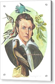 John James Audubon Acrylic Print by Kean Butterfield