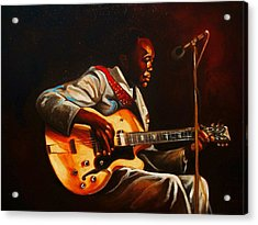 Acrylic Print featuring the painting John Lee by Emery Franklin