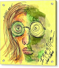 John Lennon Imagine Acrylic Print