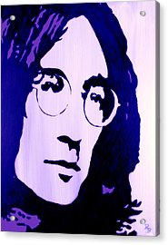 John Lennon, Little Boy Blue Acrylic Print