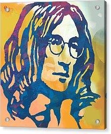 John Lennon Pop Art Poster Acrylic Print