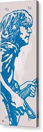 John Lennon Pop Stylised Art Sketch Poster Acrylic Print