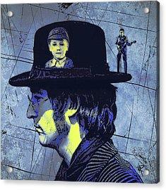 John Lennon Acrylic Print by Russell Pierce