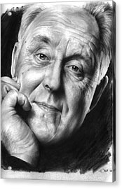 John Lithgow Acrylic Print by Greg Joens