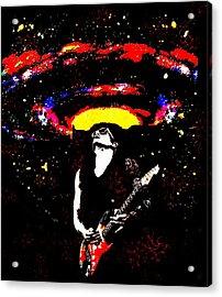 John Mayer's Gravity Acrylic Print by CD Kirven