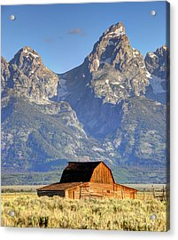 John Moulton Barn - Grand Teton National Park Acrylic Print