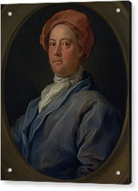 John Palmer, Barrister Of The Inner Temple Acrylic Print by William Hogarth
