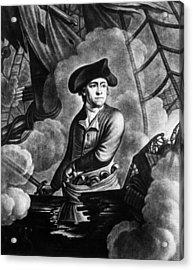 John Paul Jones 1747-1792, American Acrylic Print by Everett
