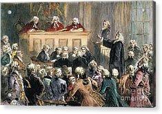 John Peter Zenger Trial Acrylic Print by Granger