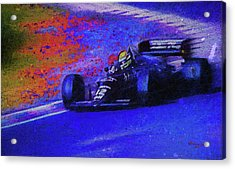 John Player Special Acrylic Print by Marvin Spates