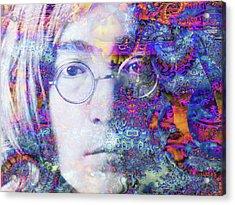 Acrylic Print featuring the digital art John by Robert Orinski