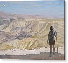 John The Baptist In The Desert Acrylic Print