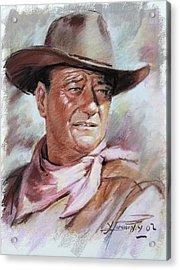 John Wayn Acrylic Print