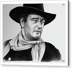 John Wayne 29jul17 Acrylic Print