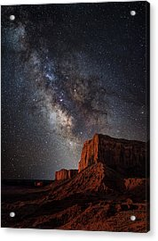 John Wayne Point Acrylic Print by Darren White