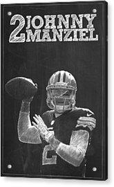 Johnny Manziel Acrylic Print