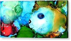 Johnny The Rocker Fish Acrylic Print by Annie StMartin
