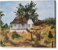 Johnny's Home Acrylic Print