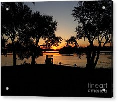 Johns Island Sunset Acrylic Print