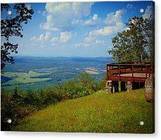 John's Mountain Overlook Acrylic Print