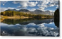 Johnson Lake Acrylic Print