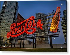 Join The Pepsi Generation Acrylic Print