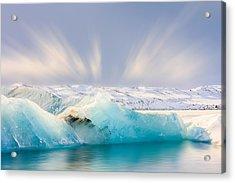 Jokulsarlon Glacier Lagoon Acrylic Print