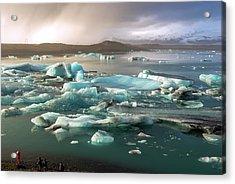 Jokulsarlon The Magnificent Glacier Lagoon, Iceland Acrylic Print