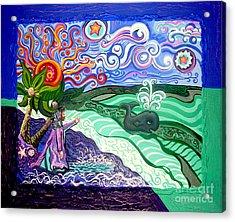 Jonah And The Whale Acrylic Print
