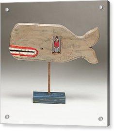 Jonah Acrylic Print by James Neill