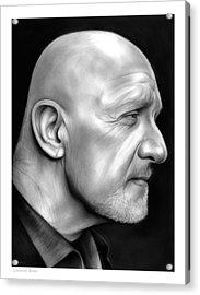 Jonathan Banks Acrylic Print by Greg Joens