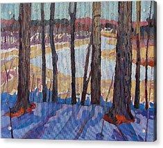Jones Creek Morning Acrylic Print by Phil Chadwick