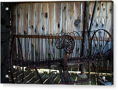 Acrylic Print featuring the photograph Jones Seat by Joanne Coyle