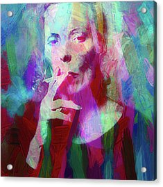 Joni Mitchell Acrylic Print